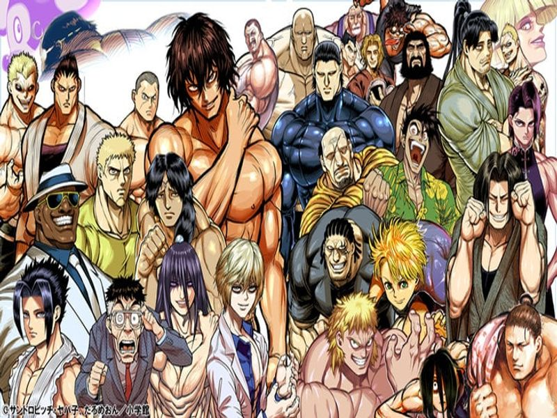 Kengan Ashura | Larx Entertainment | OtakuPort