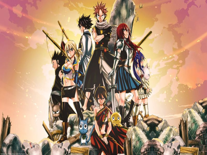 Fairy Tail | A-1 Pictures | Anime