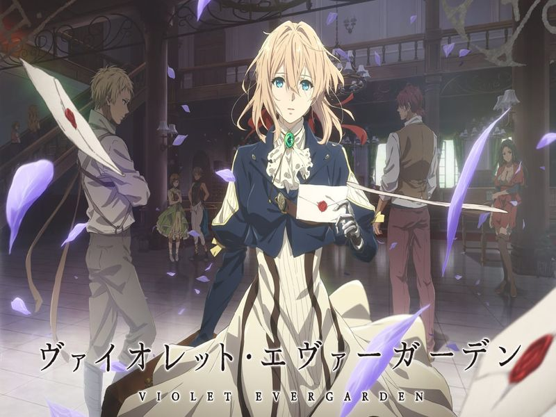 Violet Evergarden | Kyoto Animation | Anime Project | Blu-ray/DVD